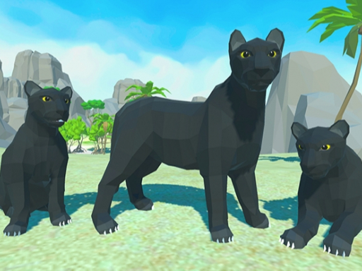 Panther Family Simulator 3D
